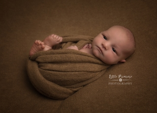 newborn baby photographer - Sandbach, Cheshire - egg wrap