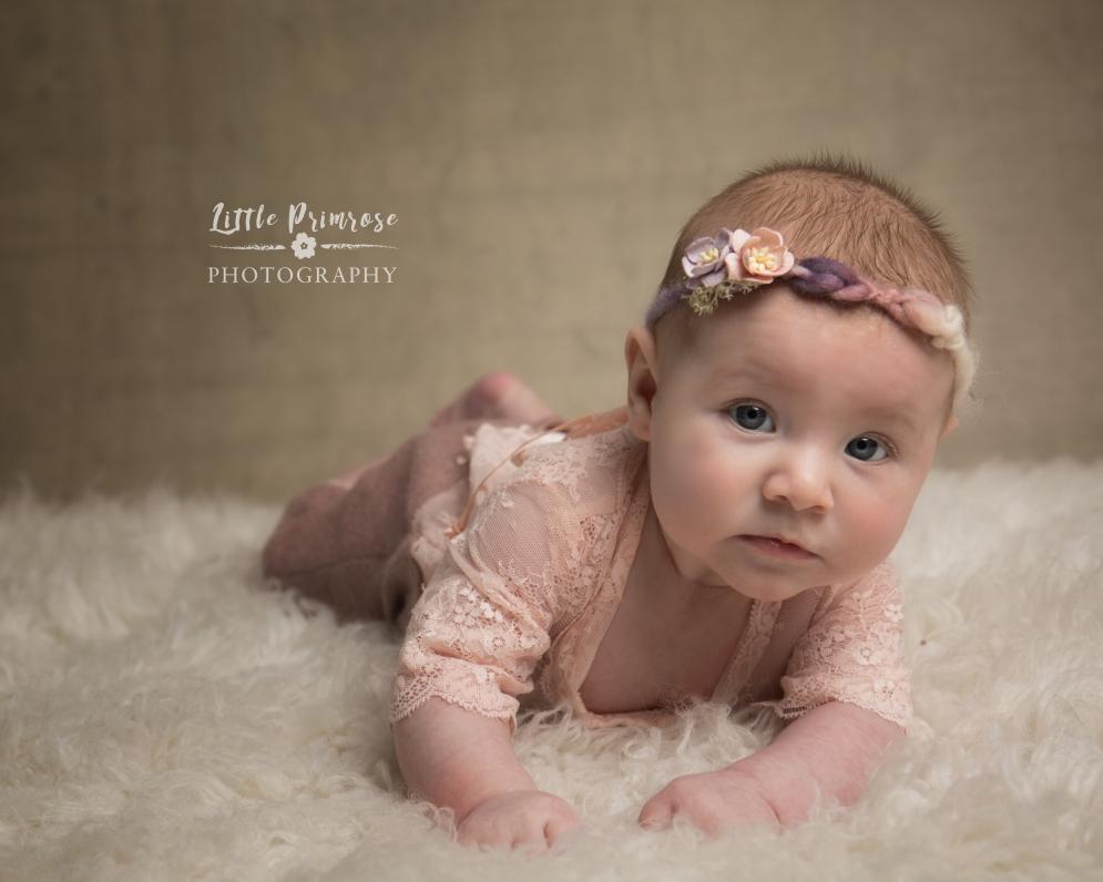 3 month old baby photo - Sandbach baby photographer