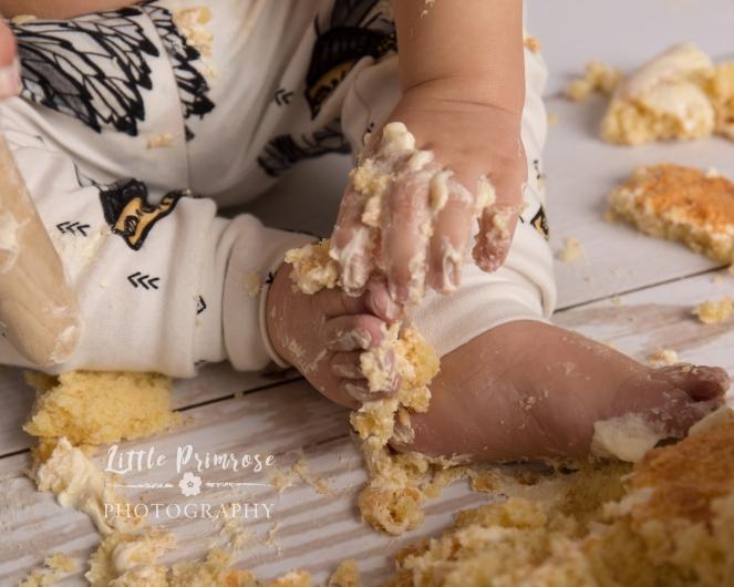 Cake smash and splash Sandbach - native american theme