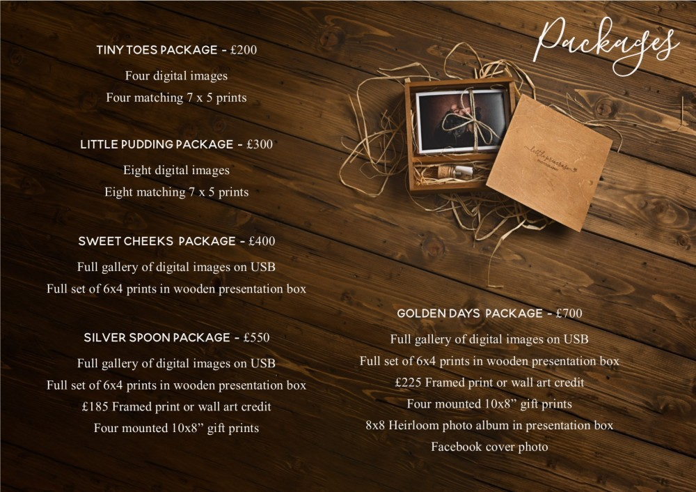 Package prices 2018