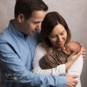 Newborn photography Cheshire - Family portrait